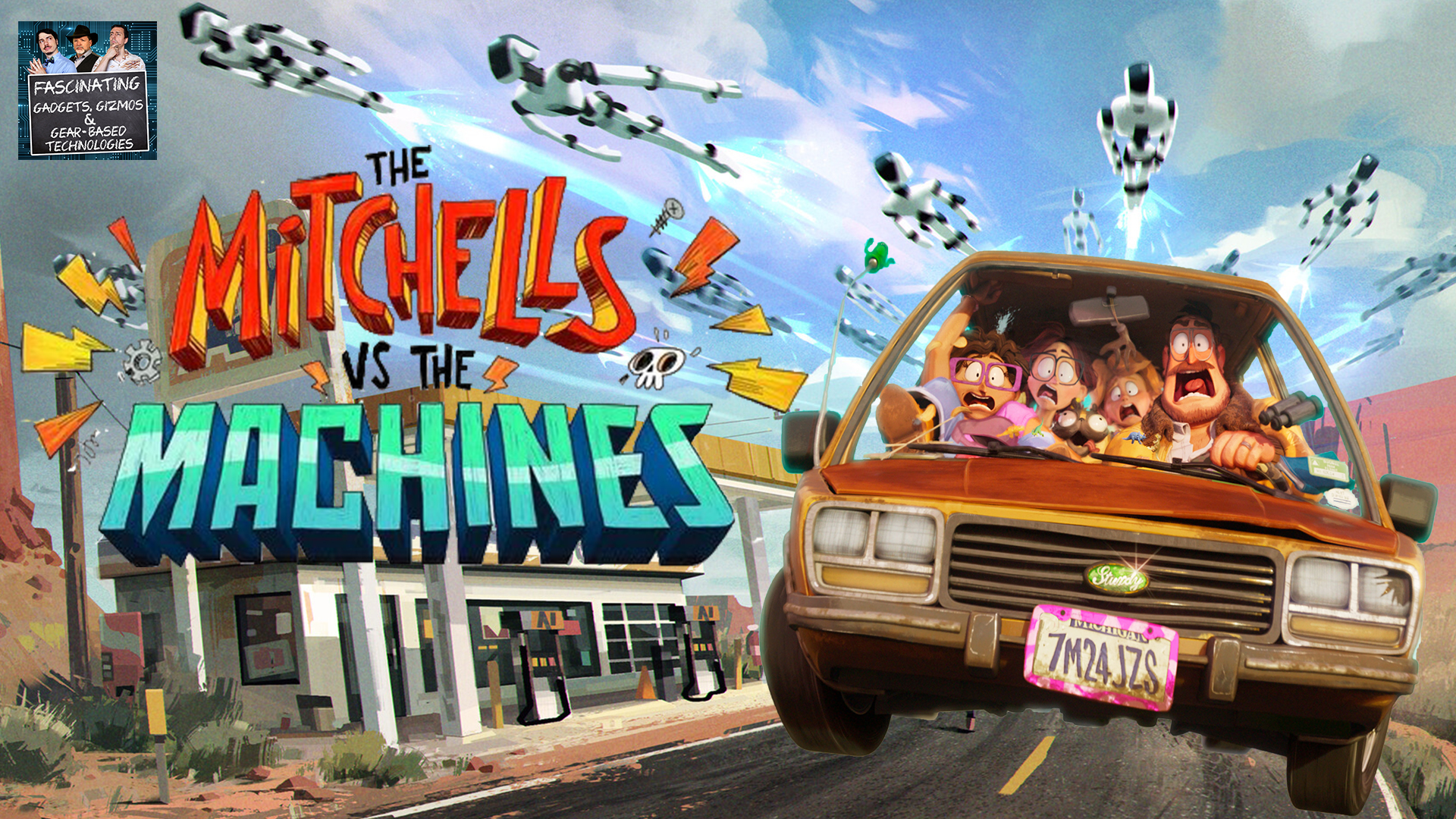 Read more about the article Ep. 94 The Mitchell's VS The Machines